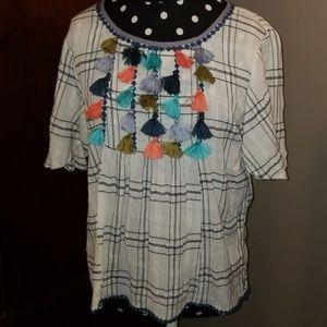 THML short sleeve shirt size XS